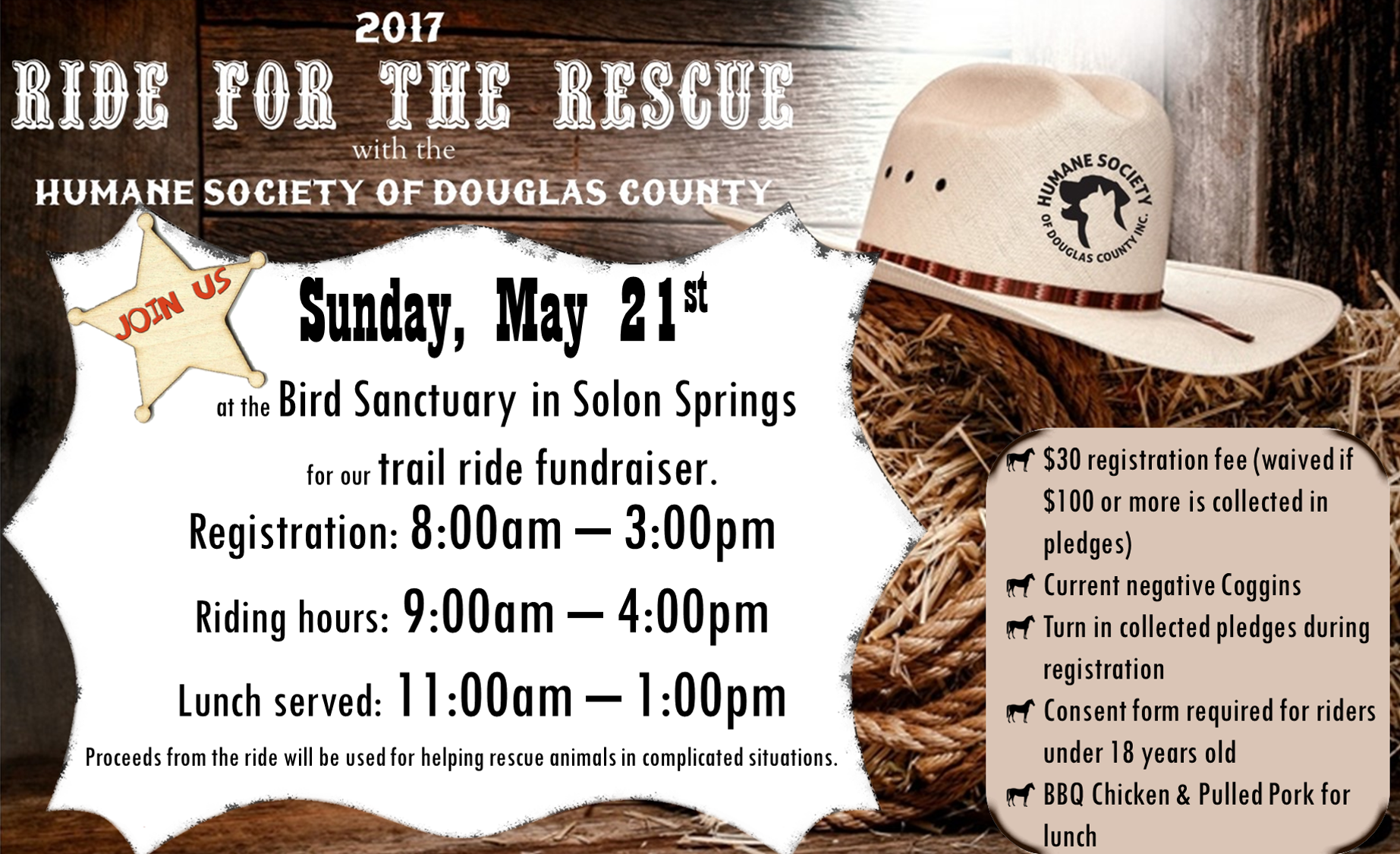 Preregistration for Ride for the Rescue